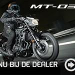 De nieuwe Yamaha MT-03 nu in onze showroom!