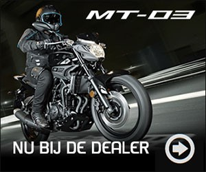 Yamaha MT-03 2016 nu in de showroom