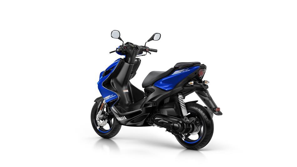 Yamaha Aerox 4T blauw