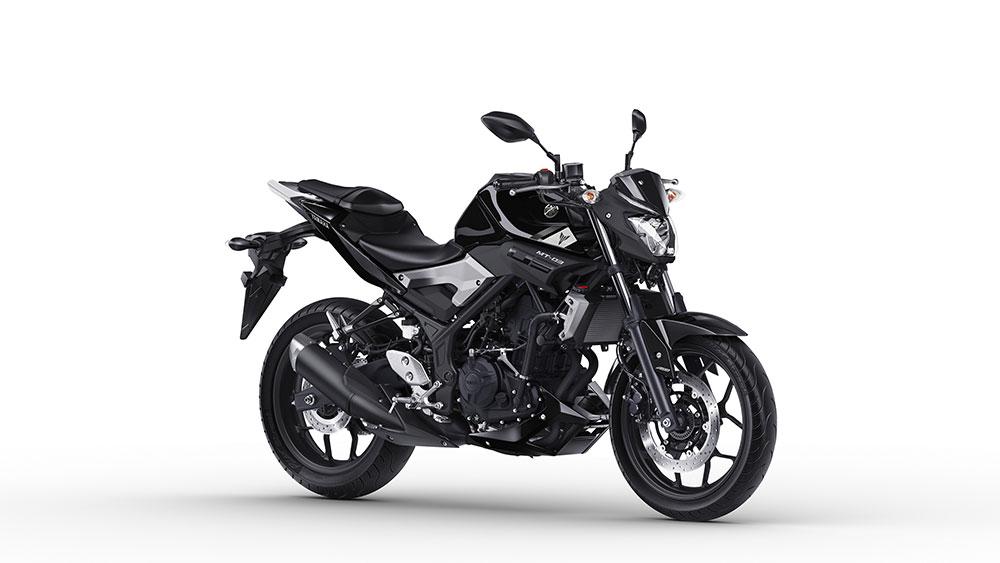 Yamaha MT-03 ABS zwart bestellen