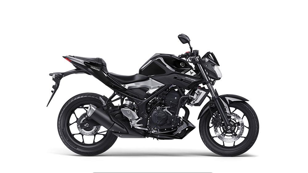 Yamaha MT-03 zwart kopen
