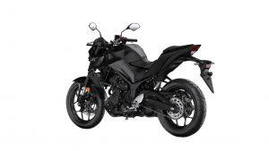 Yamaha MT-03 zwart