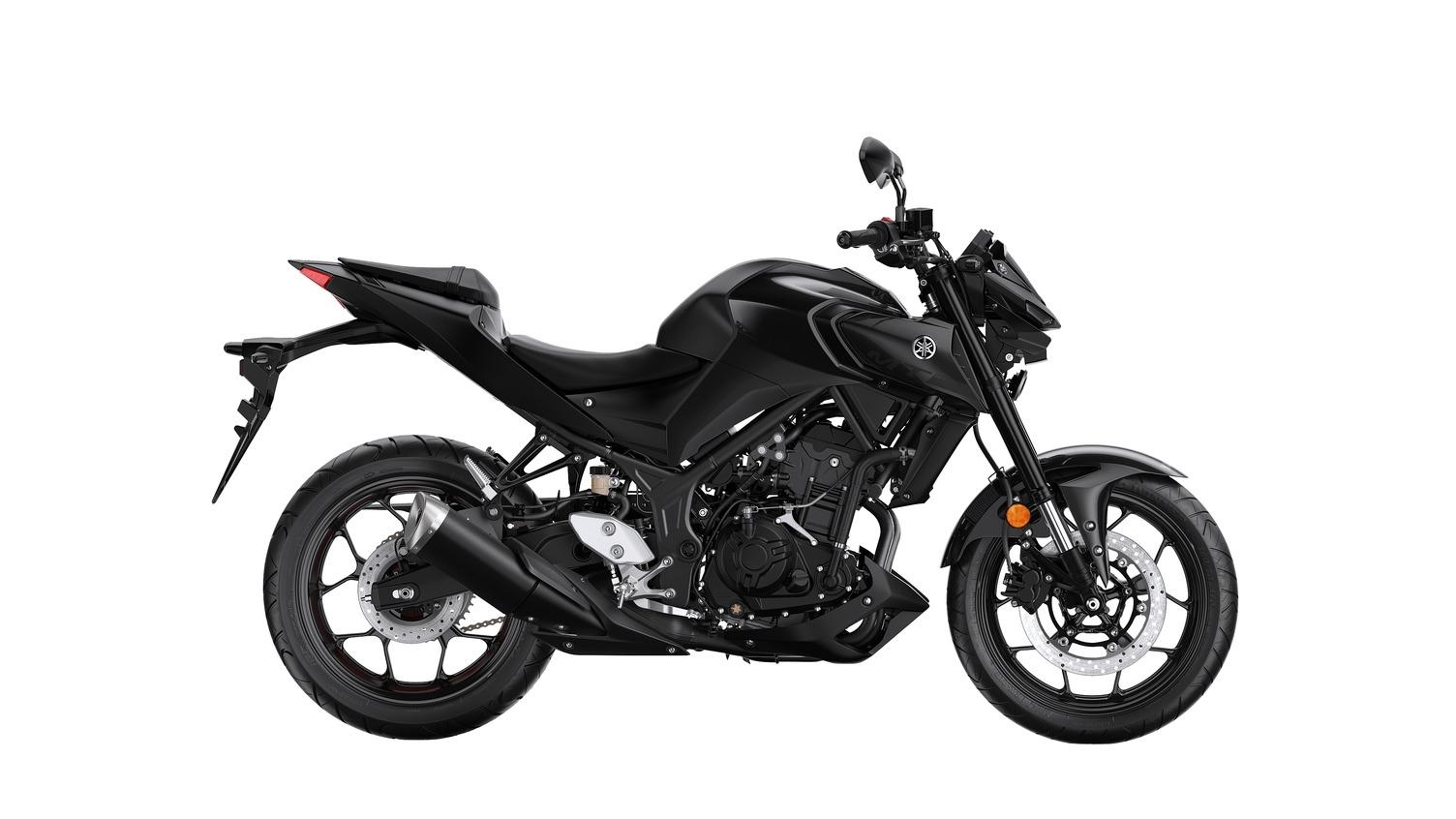 Yamaha MT-03 tech black