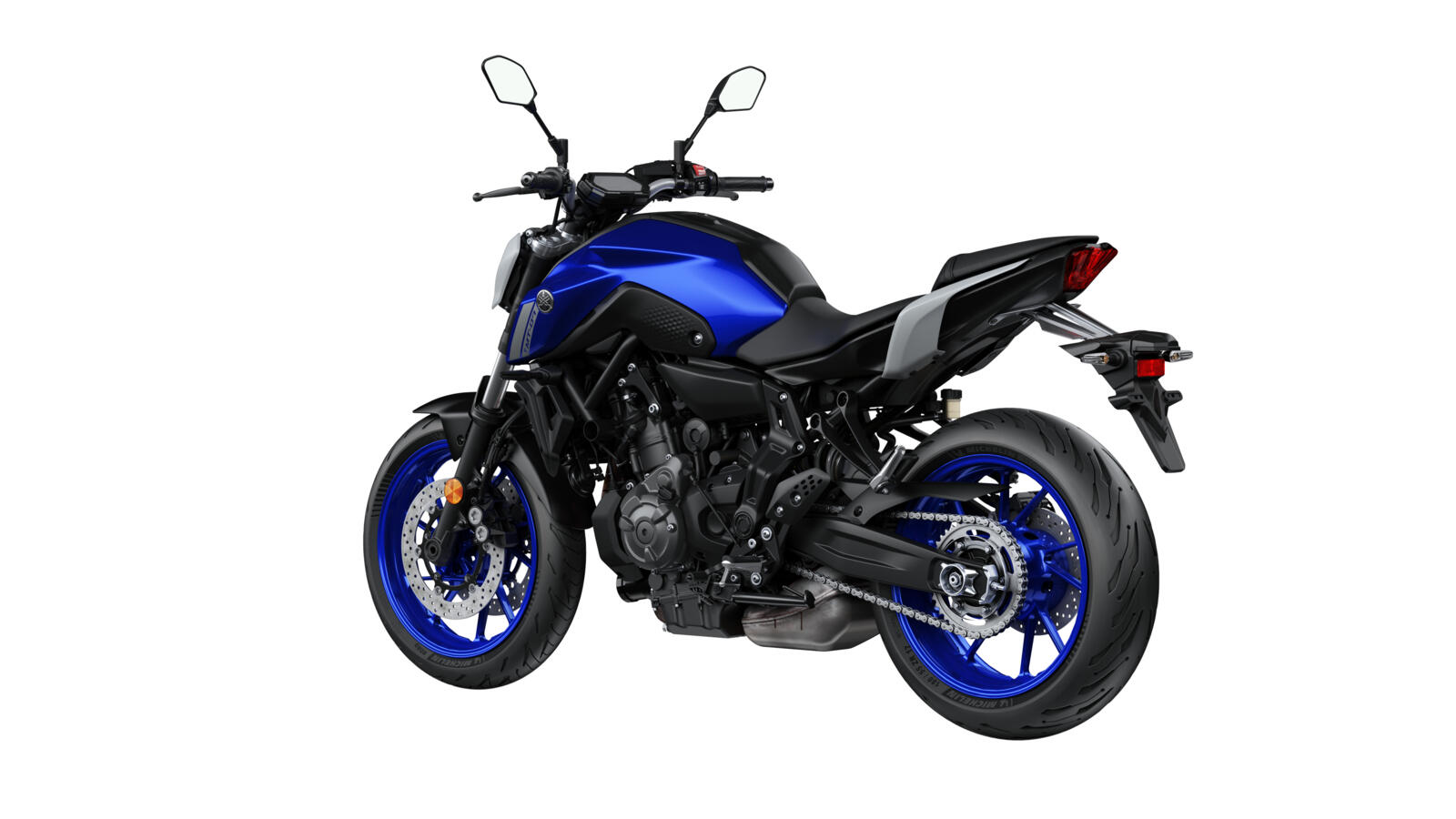 Yamaha MT-07 naked bike