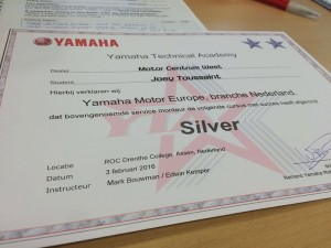 Yamaha Silver Certificaat | MotorCentrumWest