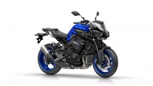 Yamaha MT-10 ABS race blu model 2017