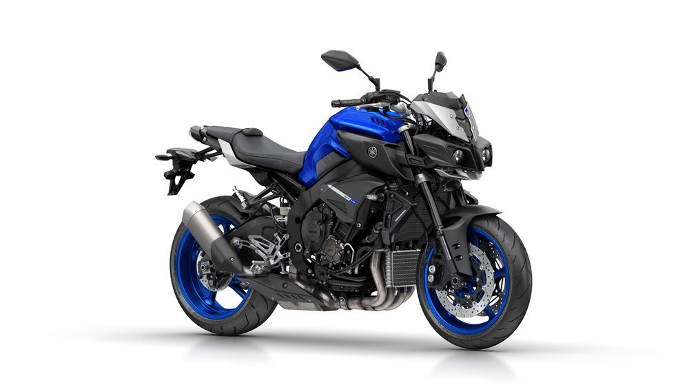 Yamaha MT-10 ABS race blu model 2017