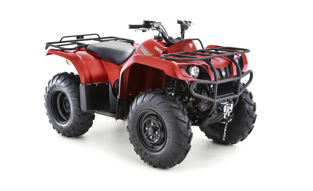 Yamaha Grizzly 350 4WD nu bestellen
