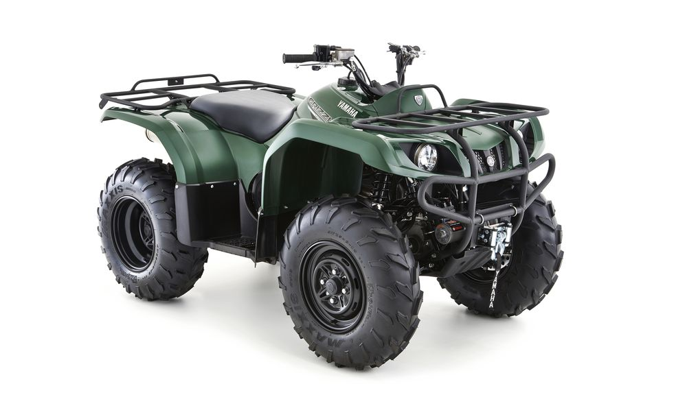 Yamaha Grizzly 350 4WD groen
