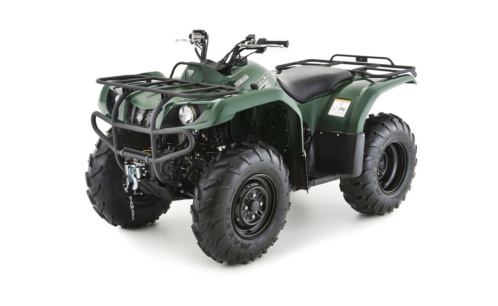 Yamaha Grizzly 350 4WD solid green
