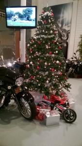 kerstmis, kerst, nieuwjaar motorfiets, kerst motorfiets