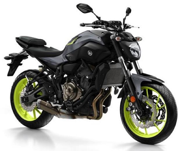 Yamaha MT-07 MotorCentrumWest