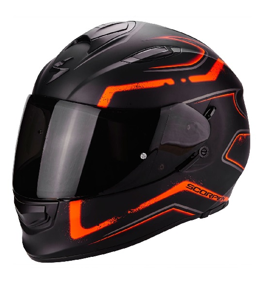 Scorpion EXO-510 AIR Radium oranje