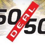 50-50 deal MotorCentrumWest