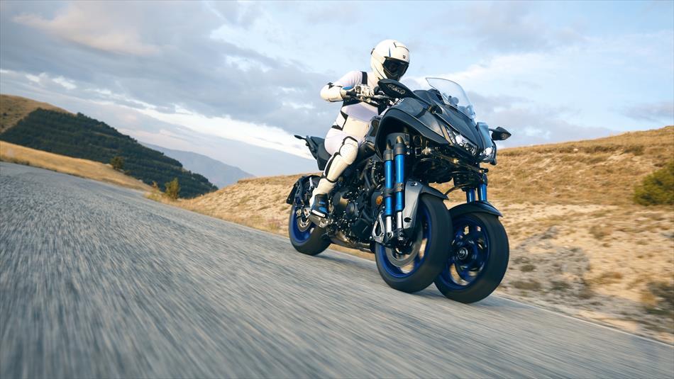 Yamaha MXT850 Niken meer informatie