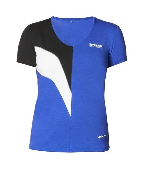 Yamaha paddock blue female tshirt bestellen