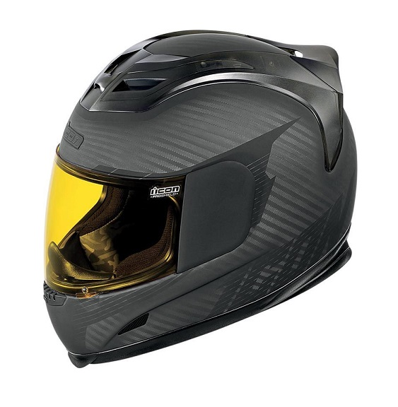 Icon Airframe Ghost Carbon motorhelm