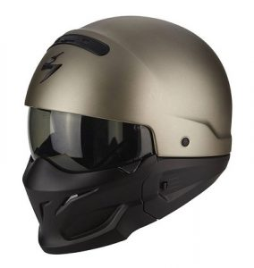 Scorpion Combat titanium MotorCentrumWest