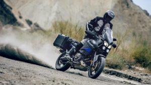Yamaha Super Tenere Schotland actie | MotorCentrumWest
