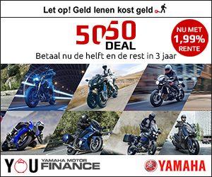 Yamaha 50/50 deal   MotorCentrumWest