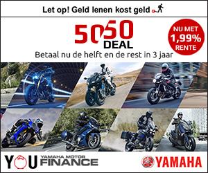 Yamaha 50/50 deal | MotorCentrumWest