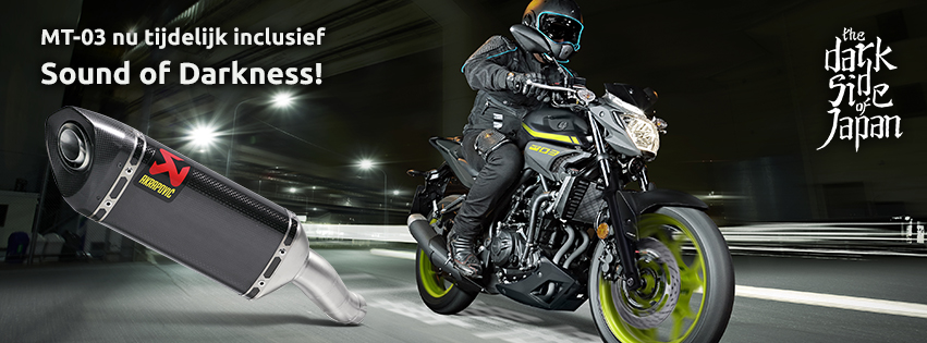 Gratis akrapovic Yamaha MT-03 | MotorCentrumWest