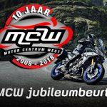 MCW jubileumbeurt MCW 10 jaar-beurt kawasaki-beurt suzuki-beurt harley-beurt honda-Nieuwe Yamaha proberen-