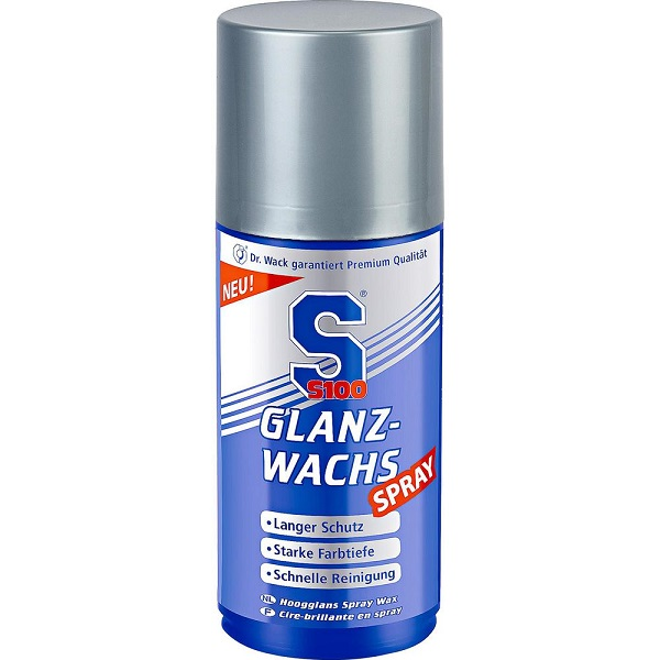 S100 glans wax spray - MotorCentrumWest