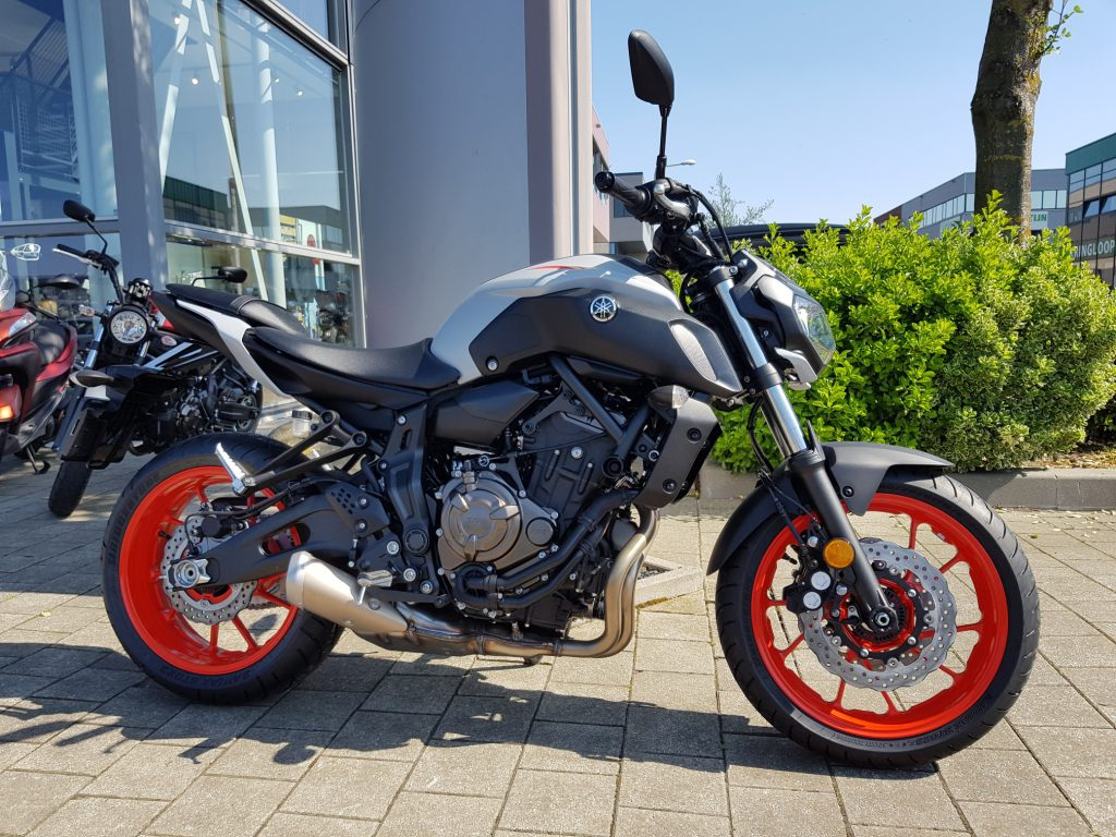 Motorverhuur Yamaha MT-07 | MotorCentrumWest