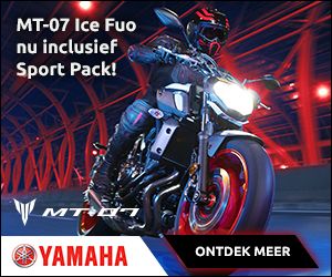 Yamaha MT-07 sport pack actie