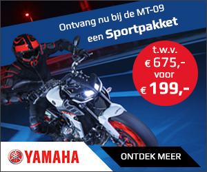 Sportpakket nu voor maar €199,- bij aanschaf Yamaha MT-09 | MotorCentrumWest