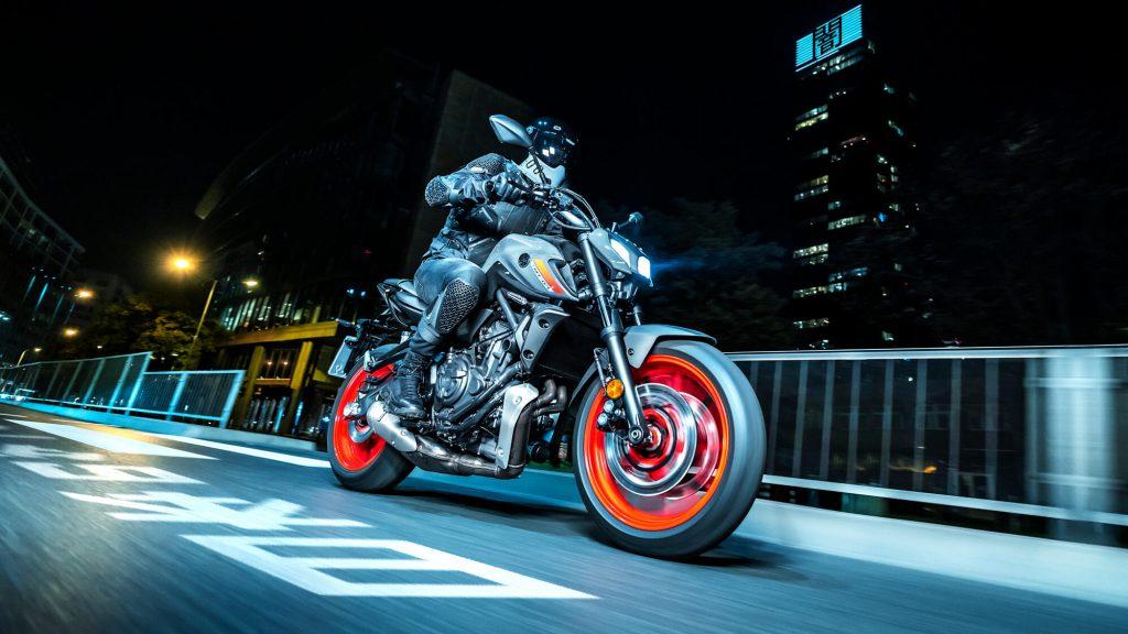 Yamaha MT-07 den haag