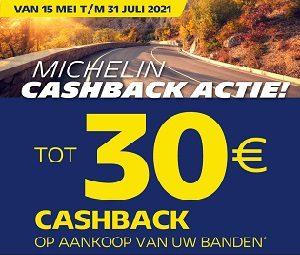 Michelin cashback actie | MotorCentrumWest