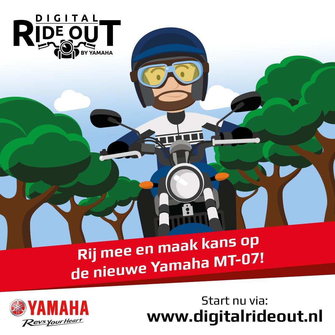 Yamaha digitale ride out | MotorCentrumWest